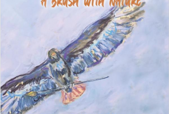 A Brush with Nature, a collection of poetry and paintings